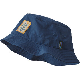 Patagonia Wavefarer Bucket Hat, whale tail tubes/stone blue